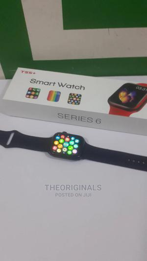 T55+ Series 6 Smartwatch for iPhones and Androids   Smart Watches & Trackers for sale in Lagos State, Ikeja
