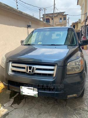 Honda Pilot 2007 EX 4x4 (3.5L 6cyl 5A) Gray   Cars for sale in Lagos State, Ikeja