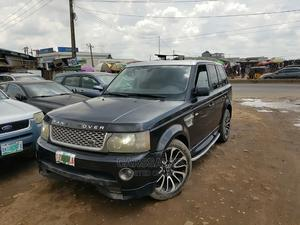 Land Rover Range Rover Sport 2008 4.2 V8 SC Black   Cars for sale in Lagos State, Agege