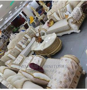 Turkey Sofas 7 Seaters With Center Table   Furniture for sale in Lagos State, Ojo