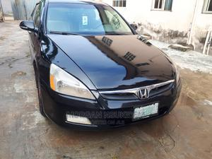Honda Accord 2007 2.4 Exec Black   Cars for sale in Lagos State, Ikorodu