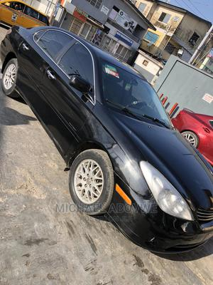 Lexus ES 2004 330 Sedan Black | Cars for sale in Lagos State, Surulere