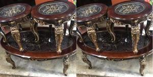 Center Table + Side Stools   Furniture for sale in Lagos State, Yaba
