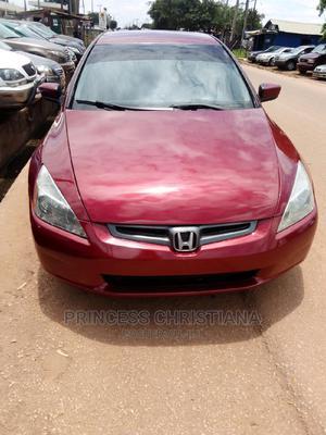 Honda Accord 2005 Automatic Red   Cars for sale in Kaduna State, Kaduna / Kaduna State