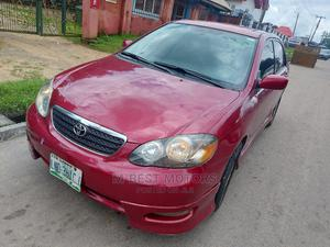 Toyota Corolla 2007 S Red | Cars for sale in Cross River State, Calabar