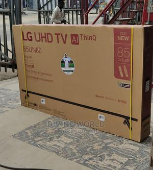 """2021made LG 85""""Uhd TV (Ai Thinq) Smart Bluetooth TV (85un80) 