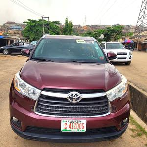 Toyota Highlander 2014 Red | Cars for sale in Lagos State, Surulere