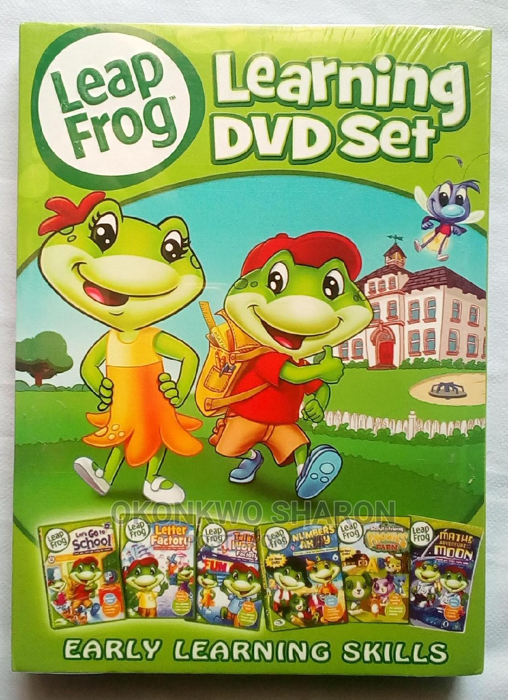 Children Learning Videos Leap Frog 6dvds