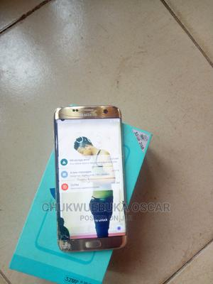 Samsung Galaxy S7 edge 32 GB Gold | Mobile Phones for sale in Imo State, Owerri