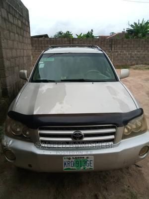 Toyota Highlander 2003 Limited V6 FWD Silver   Cars for sale in Ogun State, Ado-Odo/Ota