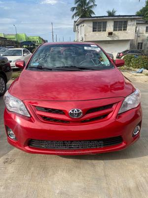 Toyota Corolla 2013 Red | Cars for sale in Lagos State, Ojodu