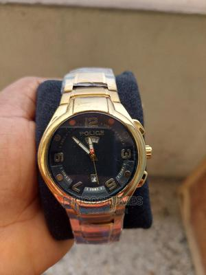 Gold Police Wristwatch | Watches for sale in Lagos State, Ikeja