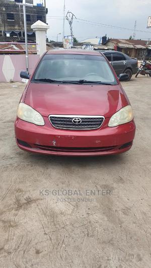 Toyota Corolla 2006 CE Red | Cars for sale in Lagos State, Ifako-Ijaiye