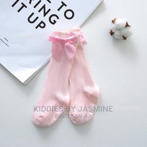 Baby Girl Knee Bow Socks | Children's Clothing for sale in Lagos State, Alimosho