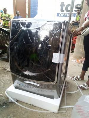 Lg 10kg Inverter Commercial Washing Machine With Dryer | Home Appliances for sale in Lagos State, Lekki