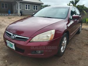 Honda Accord 2006 2.4 Executive Red | Cars for sale in Ondo State, Akure