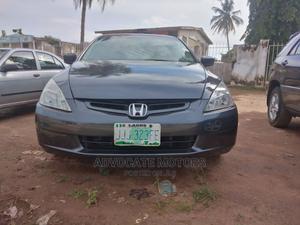 Honda Accord 2004 Sedan EX Gray | Cars for sale in Ondo State, Akure