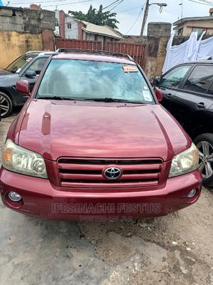 Toyota Highlander 2005 Limited V6 Red | Cars for sale in Lagos State, Surulere