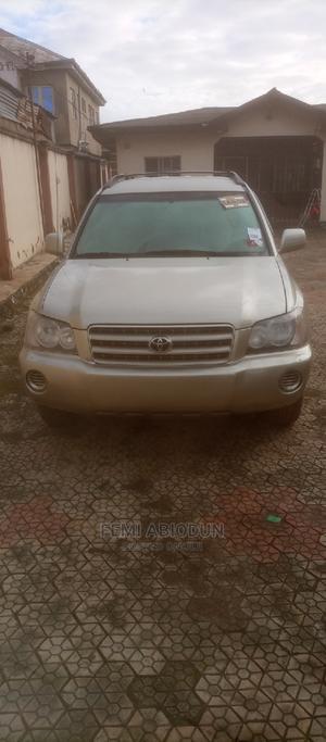 Toyota Highlander 2003 Gold | Cars for sale in Ogun State, Ado-Odo/Ota