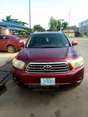 Toyota Highlander 2008 Limited 4x4 Red | Cars for sale in Lagos State, Ikeja