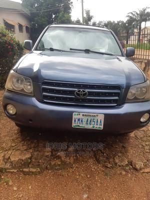 Toyota Highlander 2004 Blue | Cars for sale in Enugu State, Enugu