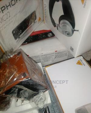 Focusrite 3rd Gen, Soundcard, Behringer Monitor, Microphone | Audio & Music Equipment for sale in Abuja (FCT) State, Gwarinpa