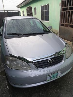 Toyota Corolla 2006 1.4 VVT-i Silver   Cars for sale in Rivers State, Port-Harcourt