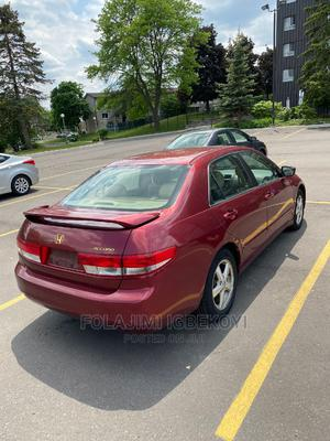 Honda Accord 2005 Automatic Red   Cars for sale in Lagos State, Ifako-Ijaiye