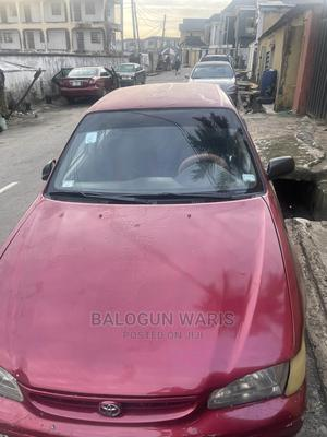 Toyota Corolla 2002 Red   Cars for sale in Lagos State, Kosofe