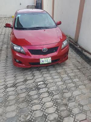 Toyota Corolla 2010 Red   Cars for sale in Lagos State, Lekki