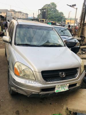 Honda Pilot 2005 Silver   Cars for sale in Lagos State, Ikorodu