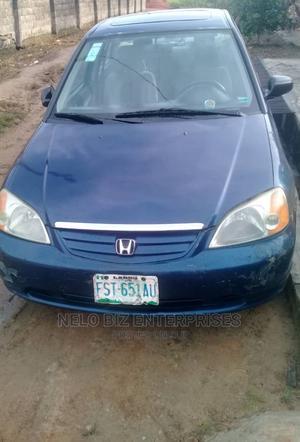 Honda Civic 2003 Blue   Cars for sale in Lagos State, Ogudu