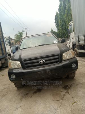 Toyota Highlander 2005 V6 4x4 Black | Cars for sale in Lagos State, Abule Egba