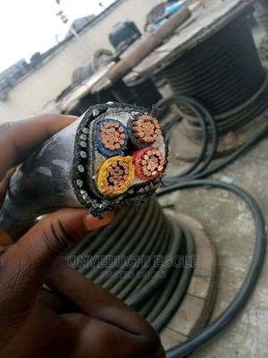 Armoured Cable 35mm 4 Cores | Electrical Equipment for sale in Lagos State, Lagos Island (Eko)