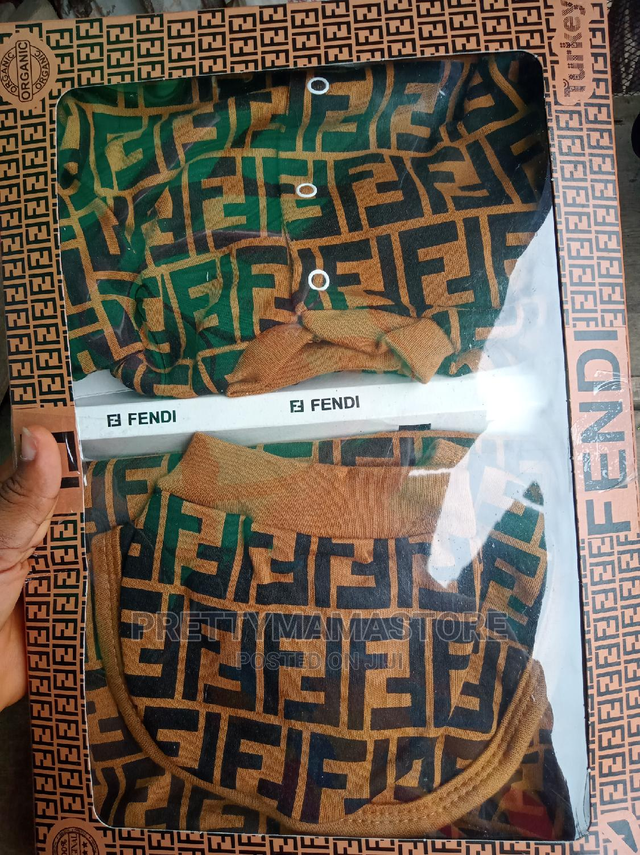 Fendi 4pcs Set   Children's Clothing for sale in Gbagada, Lagos State, Nigeria