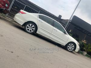 Honda Accord 2009 Sedan EX-L V6 Automatic White   Cars for sale in Lagos State, Surulere
