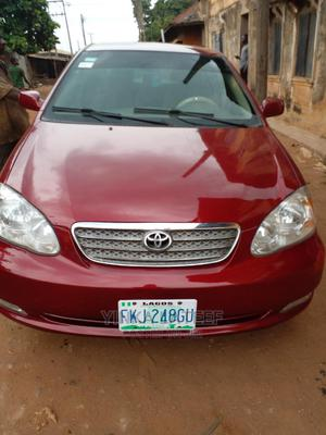 Toyota Corolla 2005 LE Red | Cars for sale in Oyo State, Oluyole