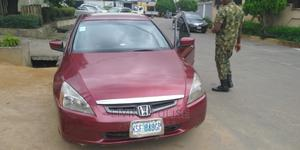 Honda Accord 2004 Red | Cars for sale in Lagos State, Ogba