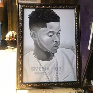 Pencil Portrait Drawing   Other Services for sale in Lagos State, Oshodi