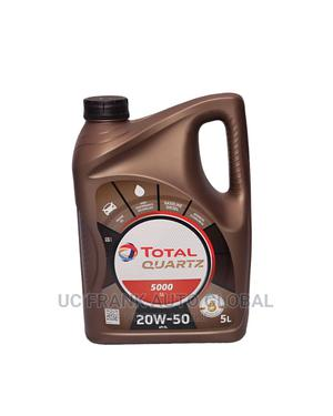 Total Quartz 20w-50 4litres | Vehicle Parts & Accessories for sale in Lagos State, Isolo