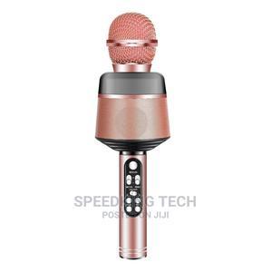 Wireless Bluetooth Microphone Karaoke Speaker   Audio & Music Equipment for sale in Abuja (FCT) State, Jahi