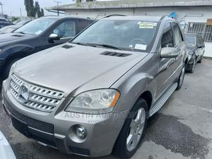 Mercedes-Benz M Class 2008 ML 550 4Matic Gray | Cars for sale in Lagos State, Apapa