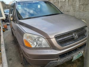Honda Pilot 2003 EX-L 4x4 (3.5L 6cyl 5A) Gold | Cars for sale in Lagos State, Ojo
