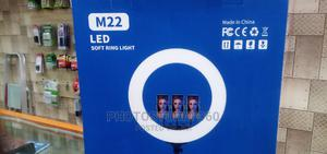 """LED Soft Ring Light 22"""" (With 3 Phone Holders and With Stand   Accessories & Supplies for Electronics for sale in Lagos State, Lagos Island (Eko)"""