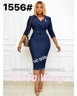 Classic Ladies Fitted Corperate Dress | Clothing for sale in Lagos State, Ikeja