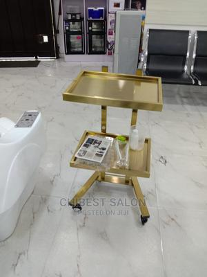 Gold Spa Trolley | Salon Equipment for sale in Abuja (FCT) State, Wuse 2