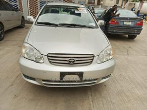 Toyota Corolla 2003 Sedan Automatic Silver | Cars for sale in Lagos State, Oshodi