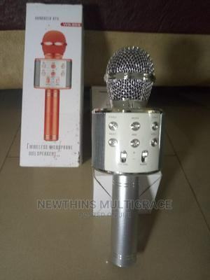 USB Bluetooth Karaoke Microphone With LED.   Audio & Music Equipment for sale in Abuja (FCT) State, Kubwa