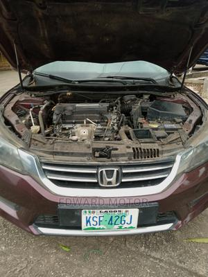 Honda Accord 2014 Red   Cars for sale in Lagos State, Alimosho