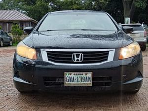 Honda Accord 2008 2.4 EX Automatic Black   Cars for sale in Abuja (FCT) State, Wuye